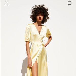 Hello Satin Dress